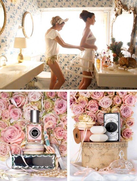 underpinnings and sweet perfume.