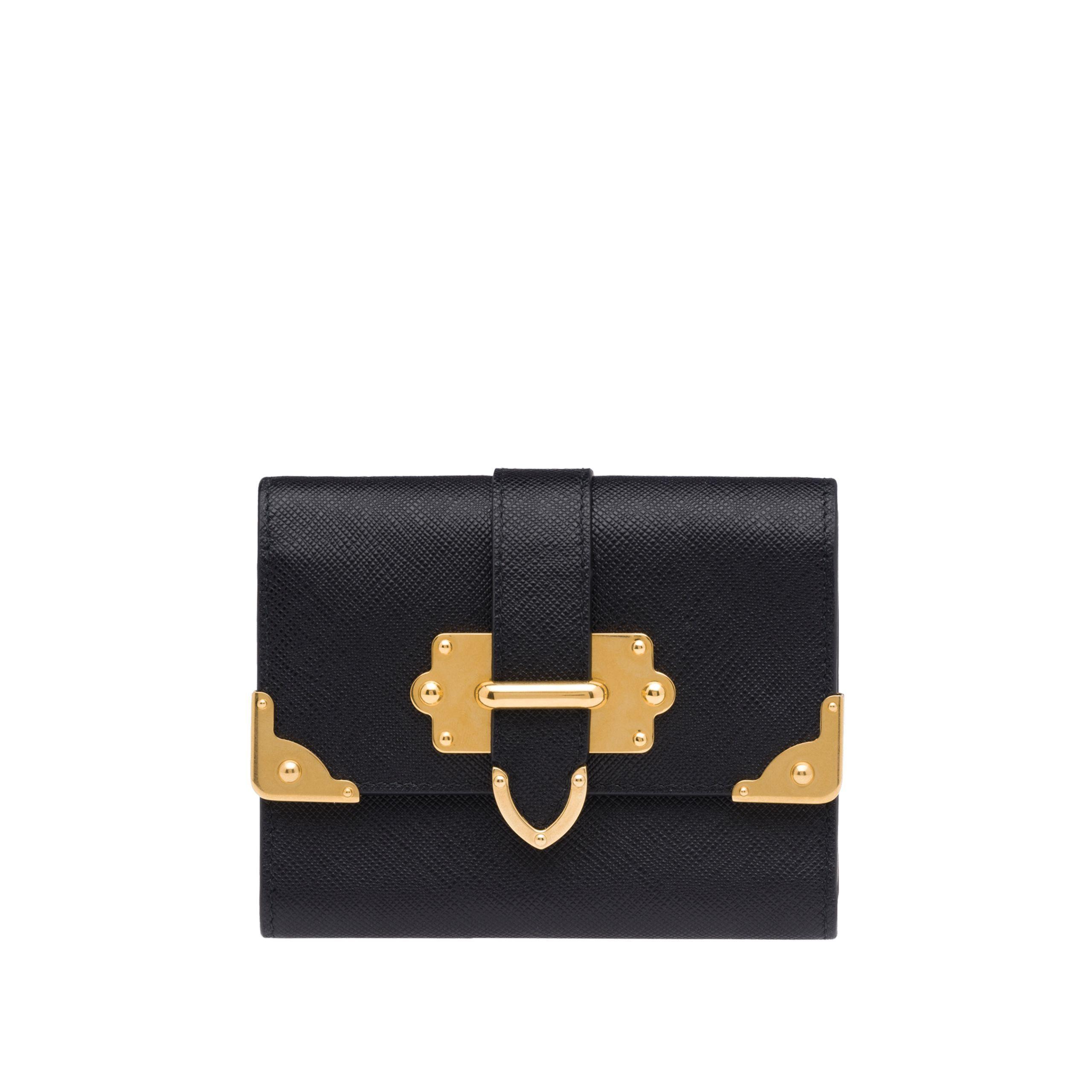 cc62aa0b PRADA | Medium Saffiano Leather Wallet | 590 $ | This Saffiano ...