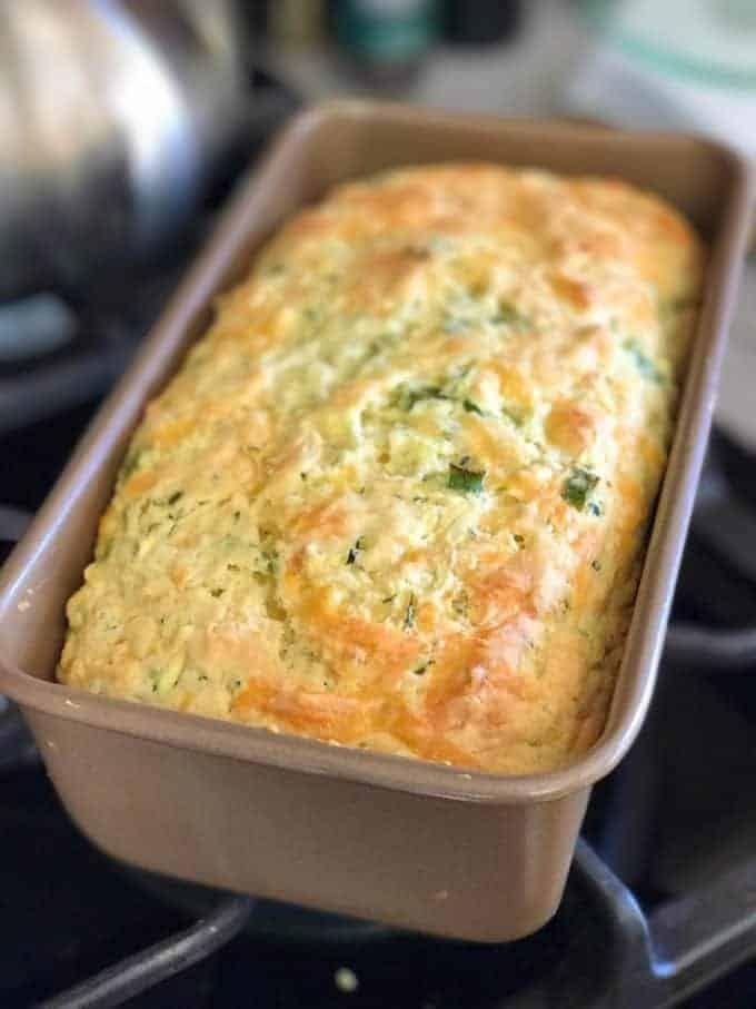Photo of Savory Zucchini Cheddar Quick Bread