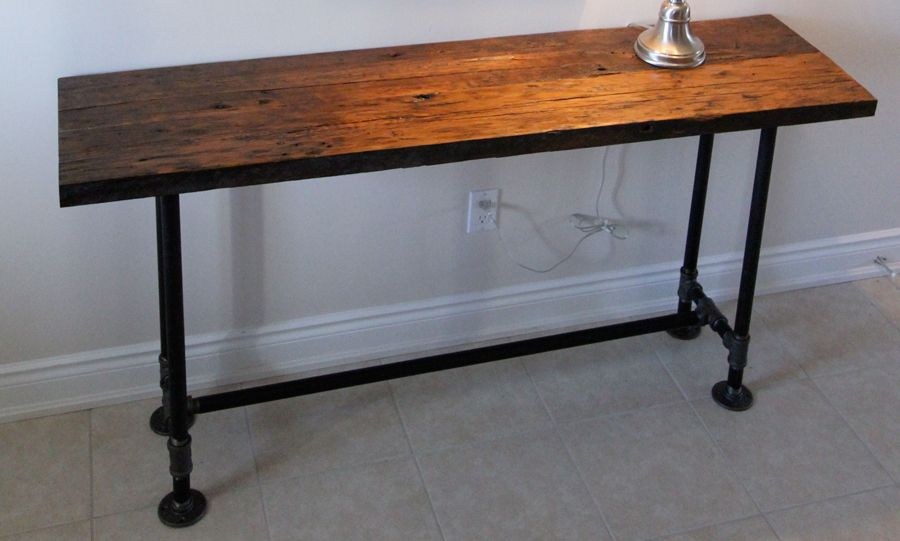 Hemlock Sofa Table 1 Ag Designs Sofa Table Furniture Rustic