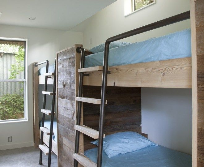 Image result for Barn Wood Wall BUNK BED