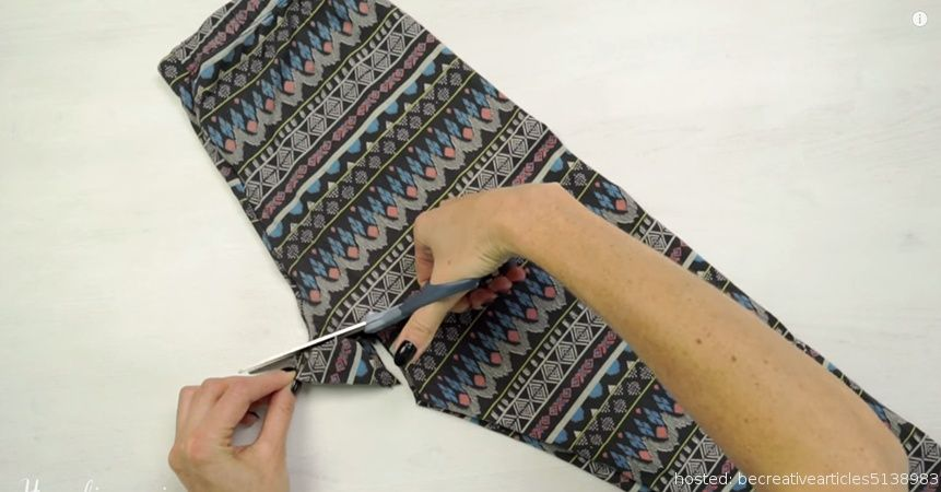 She Cut A Hole In The Crotch of Her Leggings?? But Look What She Does With Them! WOW!