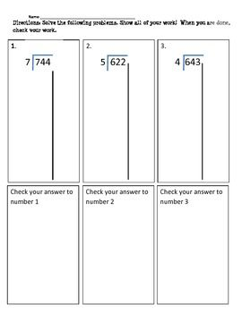worksheet: Partial Quotient Division Worksheets Long Template Com ...