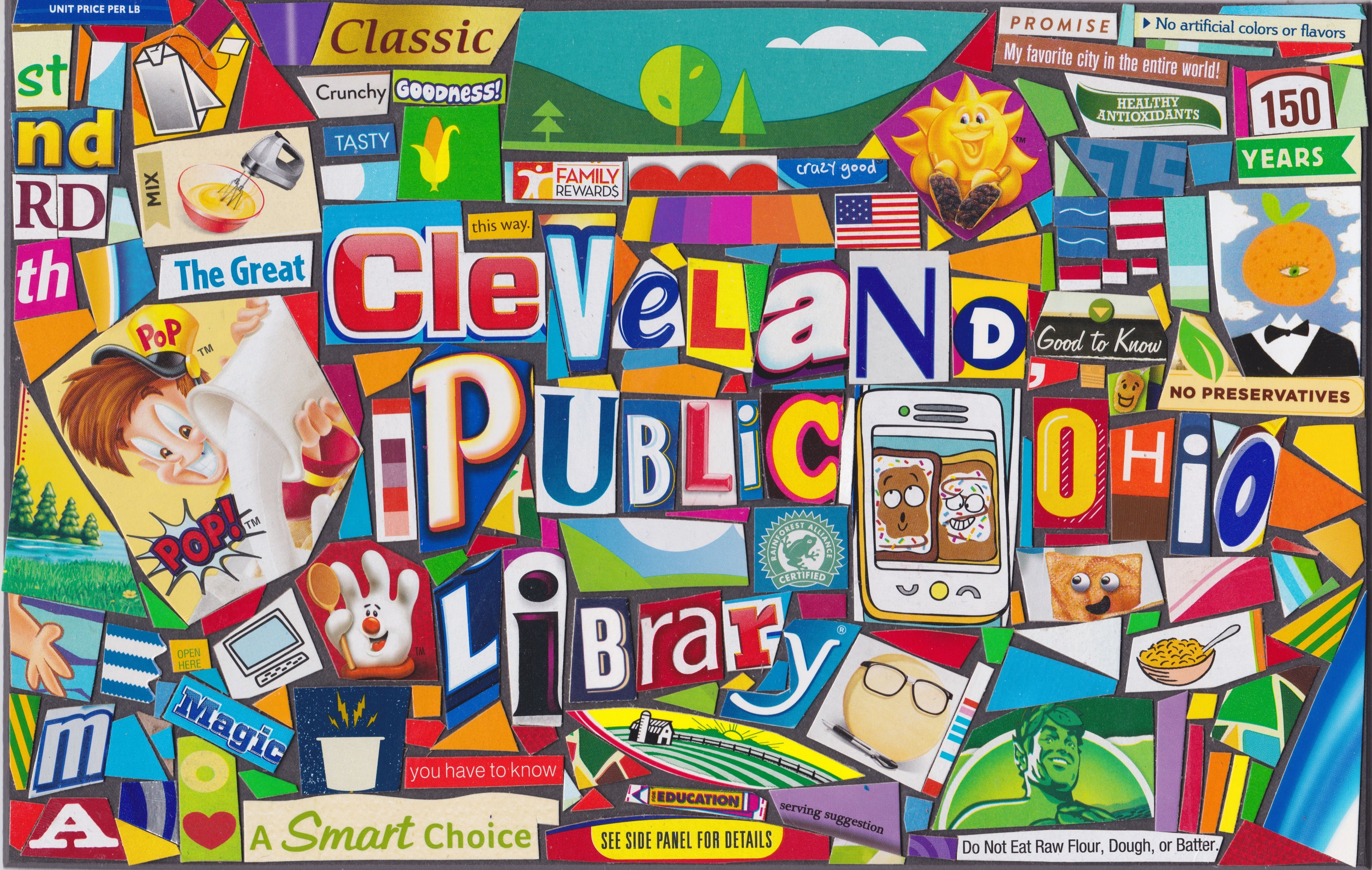 Cleveland Public Library November 2018 Modern pop art
