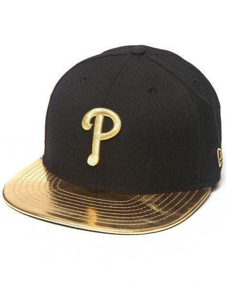 43d4ea566ca Gold Phillies New Era Cap –  40