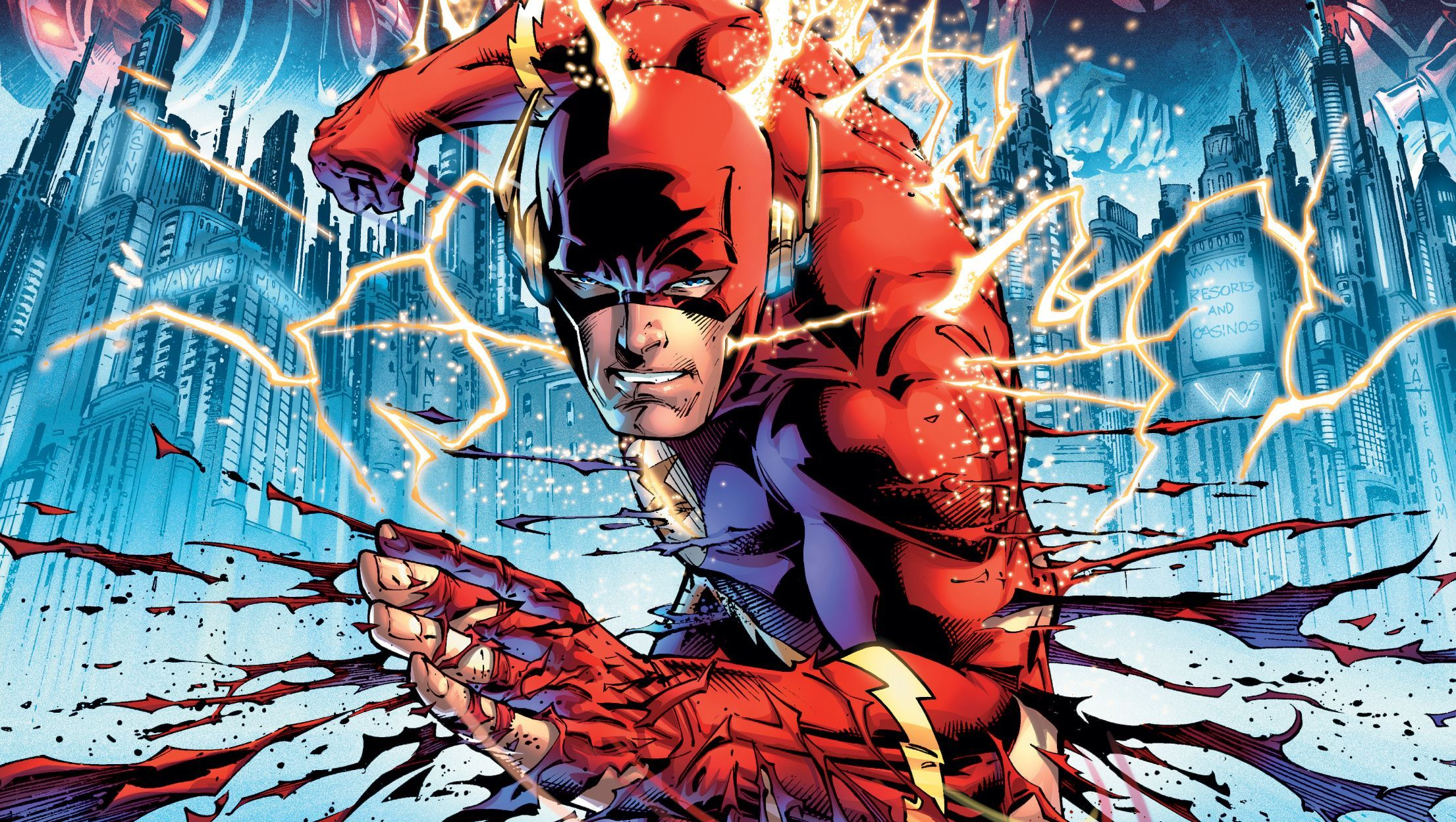 Comics Flash Flashpoint Hd Wallpaper Background Image With Images