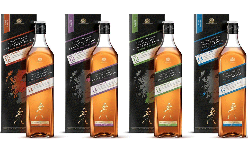 Johnnie Walker Black Label 200 Years Icons Limited Edition Johnnie Walker Black Johnnie Walker Black Label Johnnie Walker