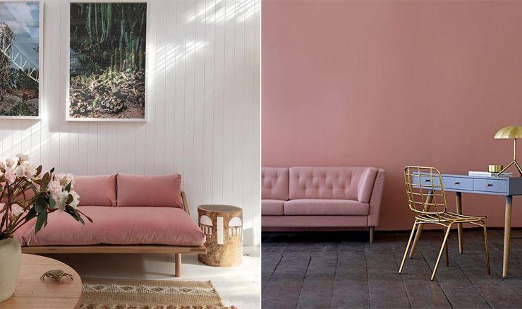 awesome design lovers blog rose quartz interiors rose quartz sofa with canape quartz but. Black Bedroom Furniture Sets. Home Design Ideas