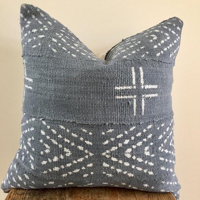 Mali Mudcloth Lumbar Pillow | Etsy