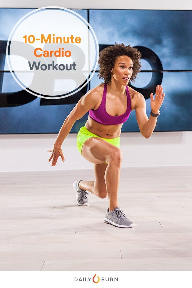Burn Calories Fast With This 10 Minute Plyometric Workout 10 Minute Cardio Workout Plyometric Workout 30 Min Workout