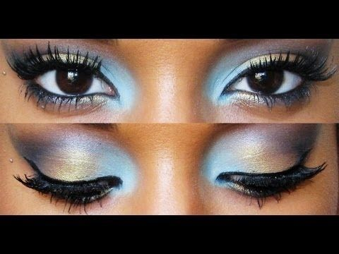 Candy Colored Eyes- gorgeous look for you dark skinned beauties!!