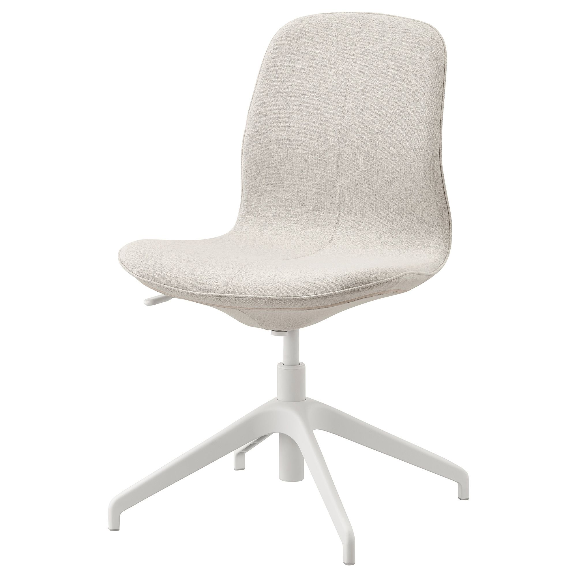 IKEA LANGFJALL Gunnared Beige, White Conference chair in