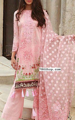 Pink Lawn Suit   Buy Mahiymaan Fashion Dress is part of lawn Dress Pink - Pakistani Lawn Suits with prices online shopping in USA, UK    Pakistani Lawn clothing for sale with Free Shipping  Call +1 5123801085