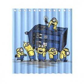 Targus Attack Minion Shower Curtain Minion Bathroom Minions