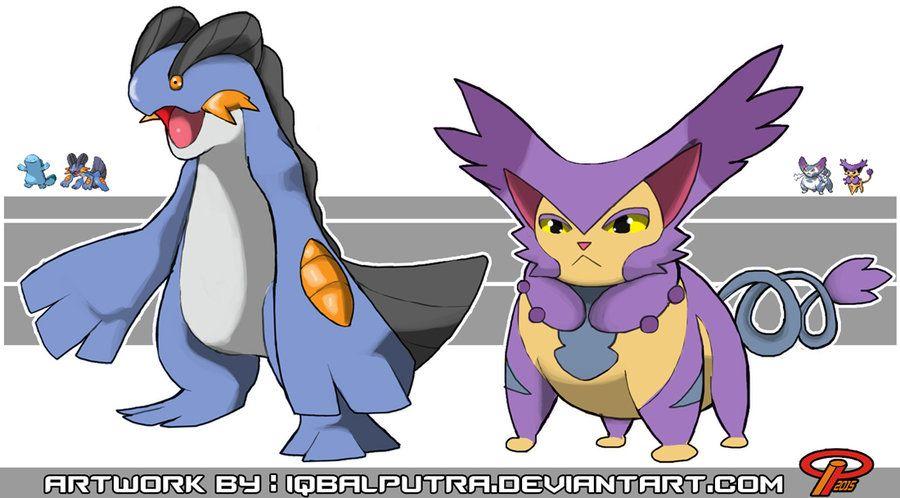 Pokemon Fusions by IqbalPutra on DeviantArt