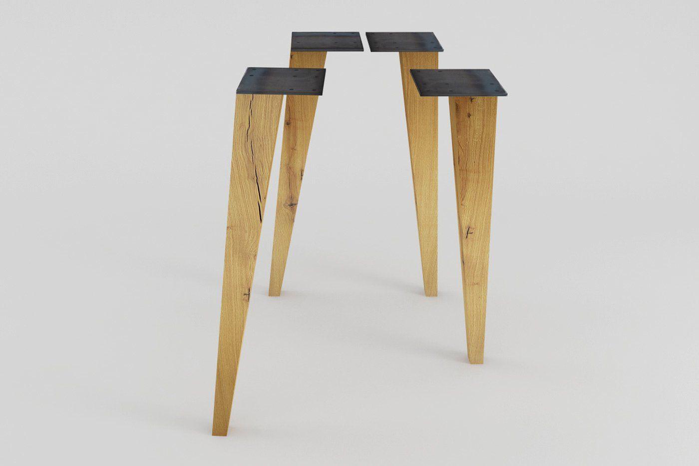 Tischbeine Holz Ikea : tischbeine holz konisch rana eiche 4er set haus in 2019 tischbeine holz tischbeine und ~ Watch28wear.com Haus und Dekorationen