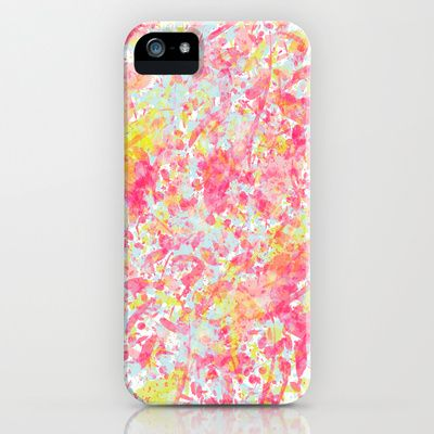 Explosion of blossoms iPhone & iPod Case by Akwaflorell - $35.00