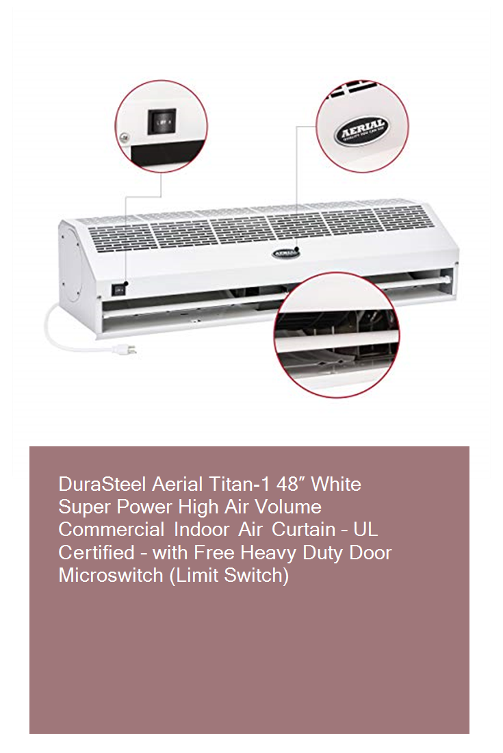 Durasteel Aerial Titan 1 48 White Super Power High Air Volume
