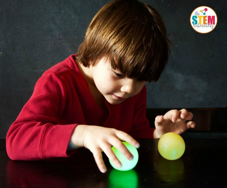 Glowing Bouncy Egg Bouncy Egg Cool Science Experiments Science Experiments Kids