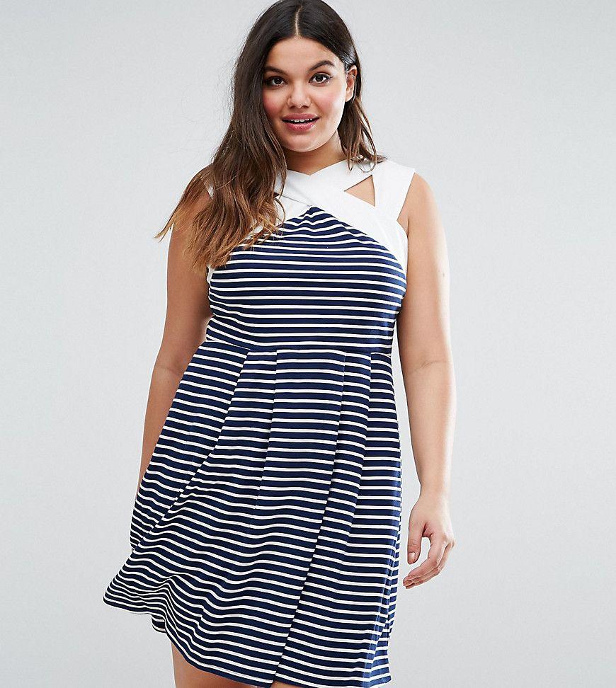 Get this asos curveus skater dress now click for more details
