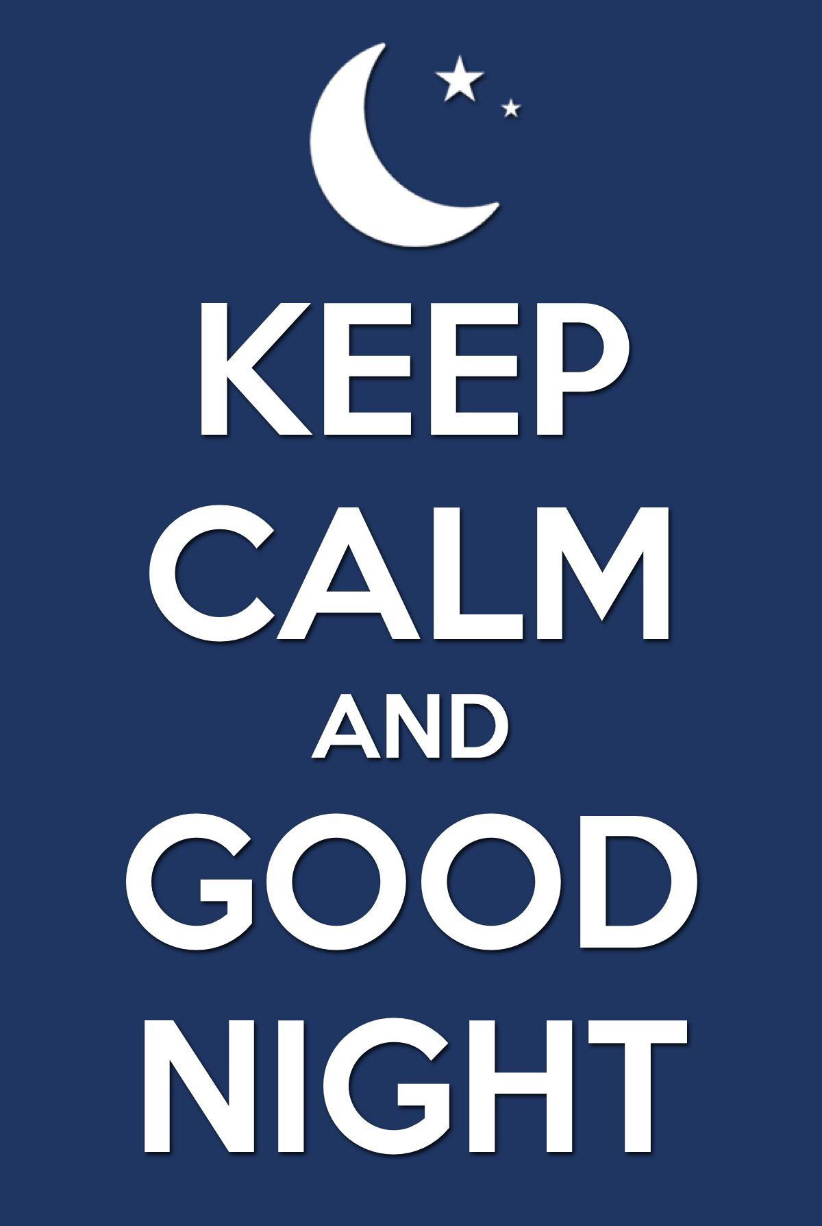 Goodnight keep calm football love person