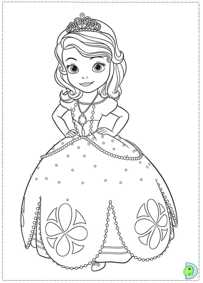 Sofia The First Coloring Pages Free Coloringpages