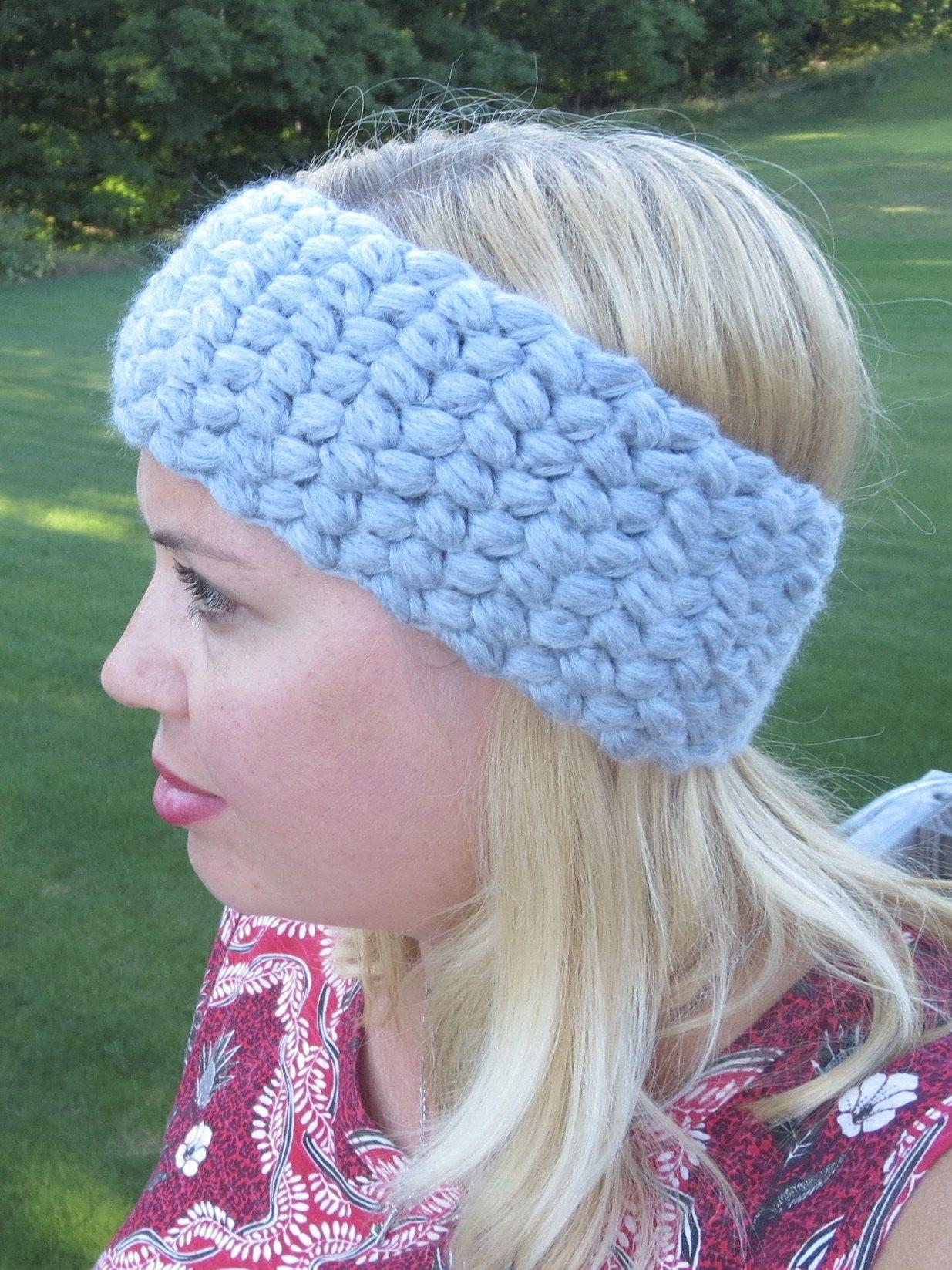 Pin de Claudia Womack ❀ en Crochet Ear Warmers, Hats & Headbands ...