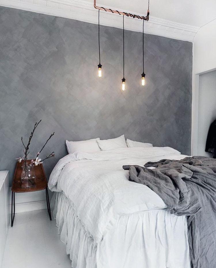Wandfarbe Gefleckt In Grau