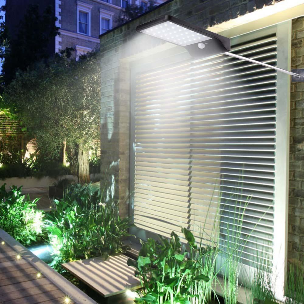 New led outdoor street waterproof wall lights lm solar power
