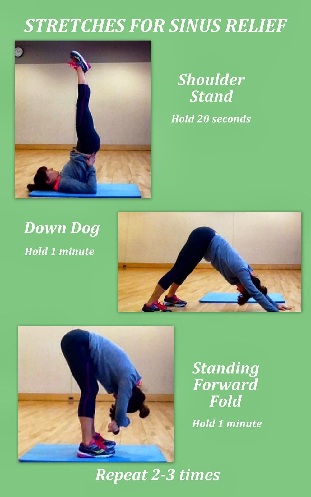 Honest Healthy Living Yoga Poses For Sinus Relief   Sinus relief ...