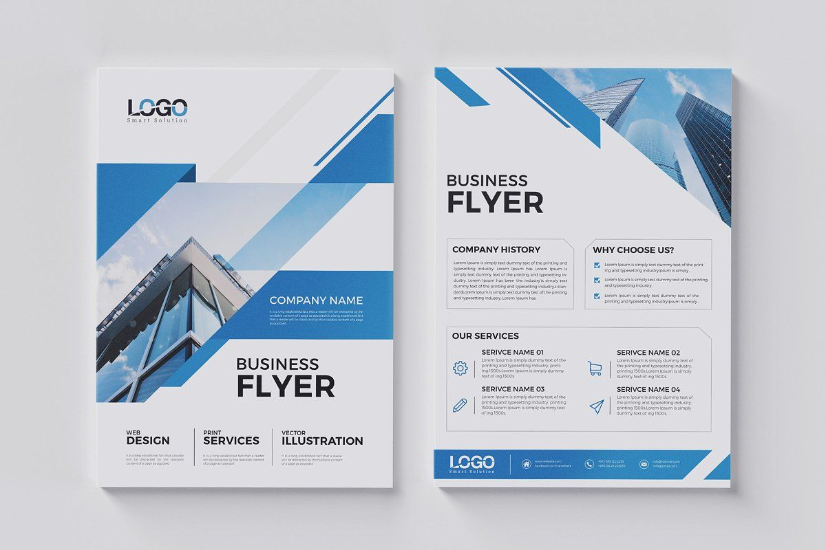 20 Corporate Flyer Double Sided