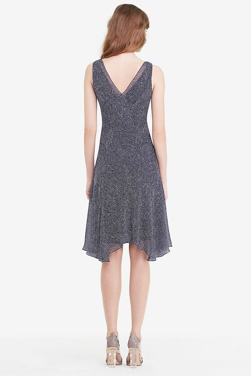 DVF Dita Chiffon A-line Dress | Landing Pages by DVF