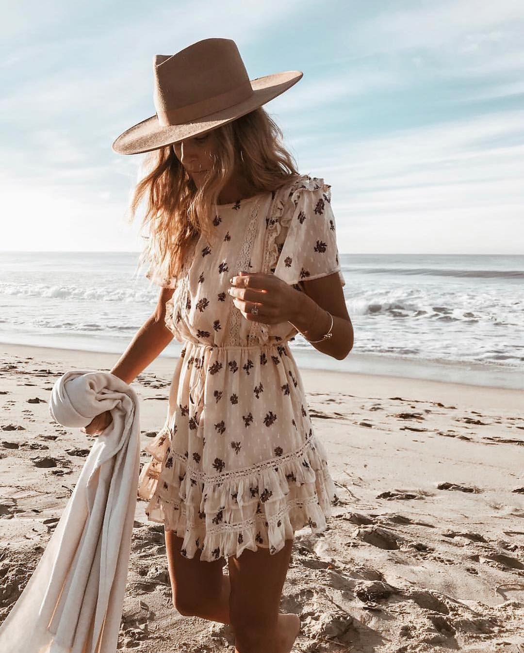 Lack Of Color Hats On Instagram Lindsaymarcella In Her Teak Rancher Back In Stock Online But Not For Lon Summer Outfits Women Fashion Outfits With Hats