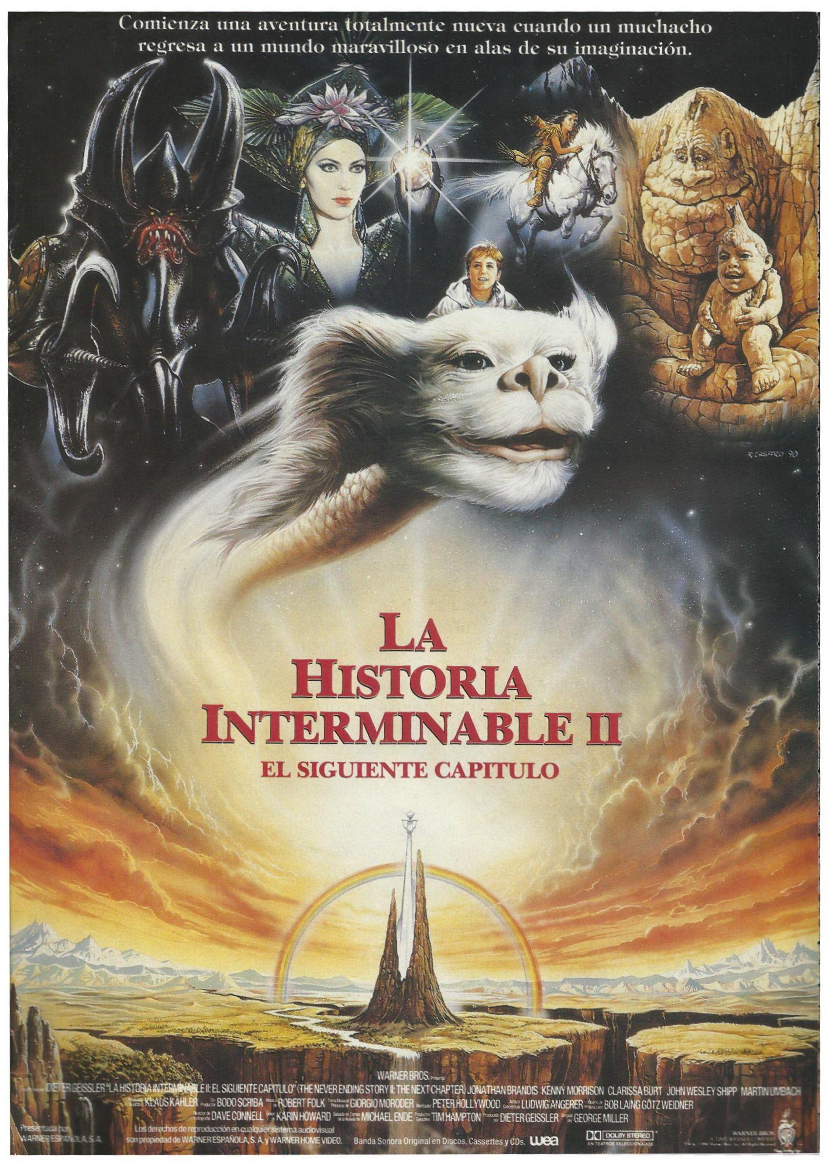 1990 La Historia Interminable Ii El Siguiente Capitulo The Neverending Story Neverending Story 2 Fantasy Movies