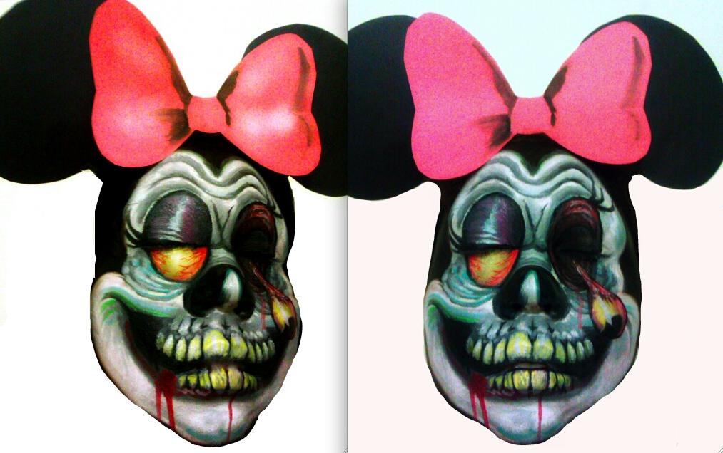 minnie mouse zombie by ARTSIE-FARTSIE-PAINT on deviantART ...