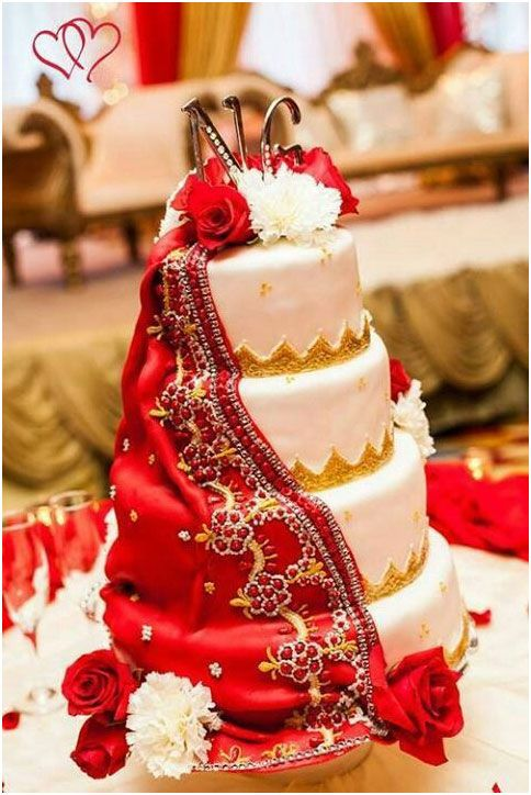 Top 5 Trends In Indian South Asian Wedding Cakes Mine