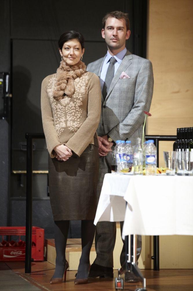 Alexandra, Countess of Frederiksborg and her husband  Martin Jørgensen