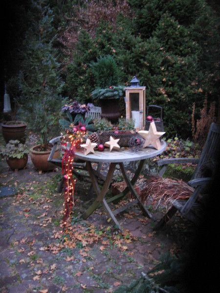 Bildergebnis f r basteln mit mandarinenkisten deko for Balkon deko weihnachten