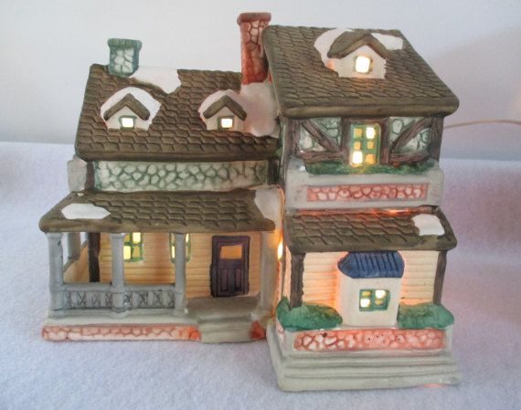 Sale 50% OFF Dickens House Towne Series 1995 by HobbitHouse