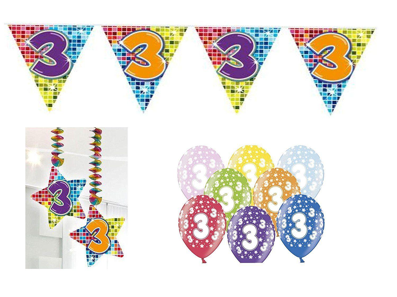 Der Spielzeugtester Hat Das Partydeko Set 3 Geburtstag