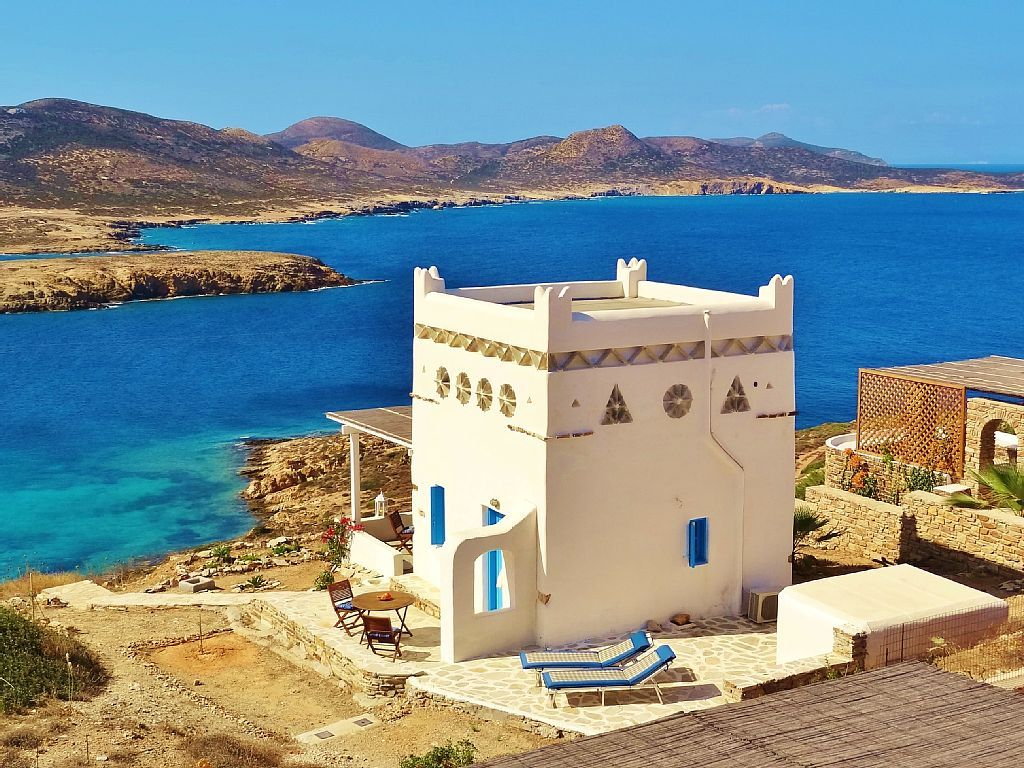 Antiparos Vacation Rental - VRBO 48197ha - 1 BR Antiparos House in Greece, Recently Built, Charming, Cyclades Type House with Panoramic View of the Aegean