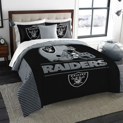 Nfl Oakland Raiders Draft King Comforter Set Comforter Sets