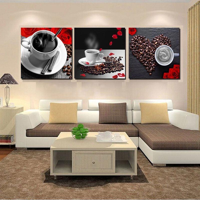 Canvas Painting Coffee Wall Decor