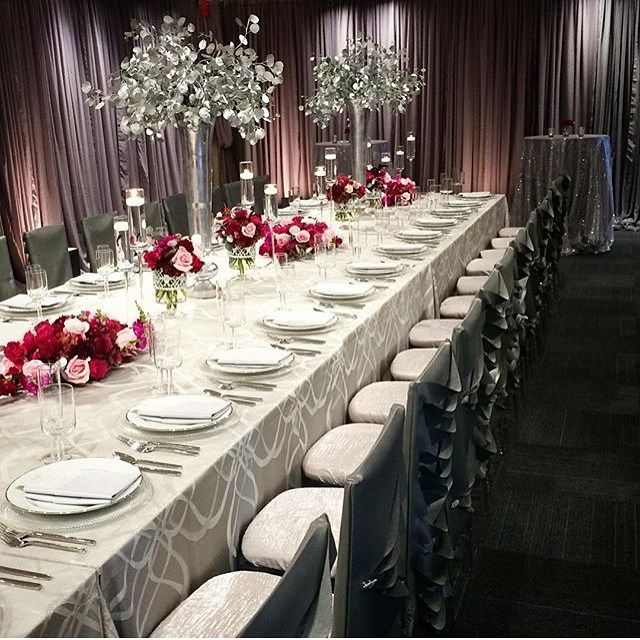 Red Wedding Ideas Reception: A Silver And Red Wedding Would Be Great For A Winter