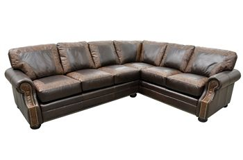 Bonanza Sectional Sofa Roughing It In Style Rustic Southwest