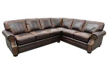 Sensational Bonanza Sectional Sofa Roughing It In Style Rustic Creativecarmelina Interior Chair Design Creativecarmelinacom