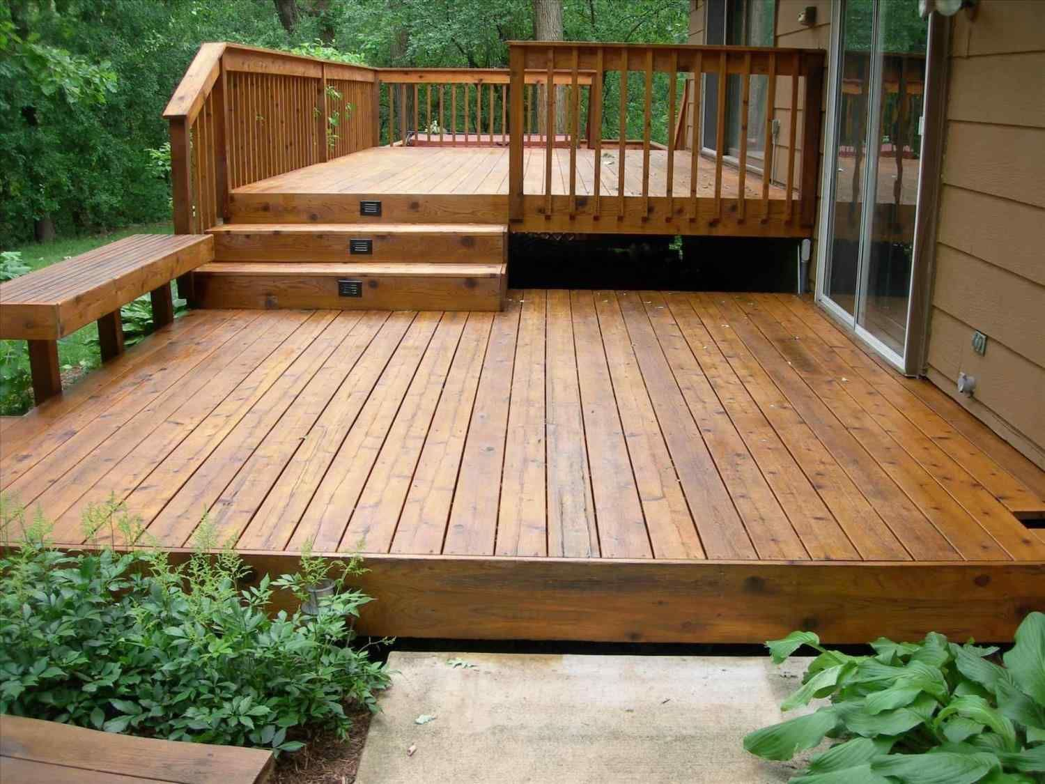 Wonderful Cheap Floating Deck Design For Your Backyard ...