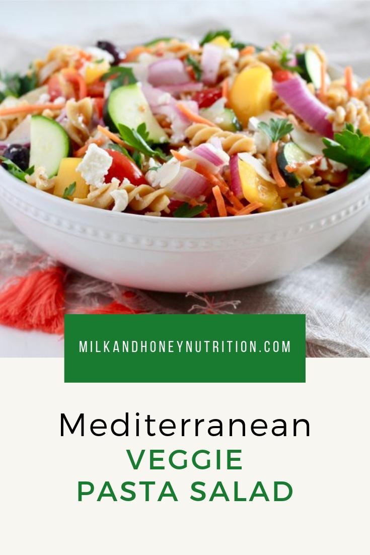 Mediterranean Veggie Pasta Salad images