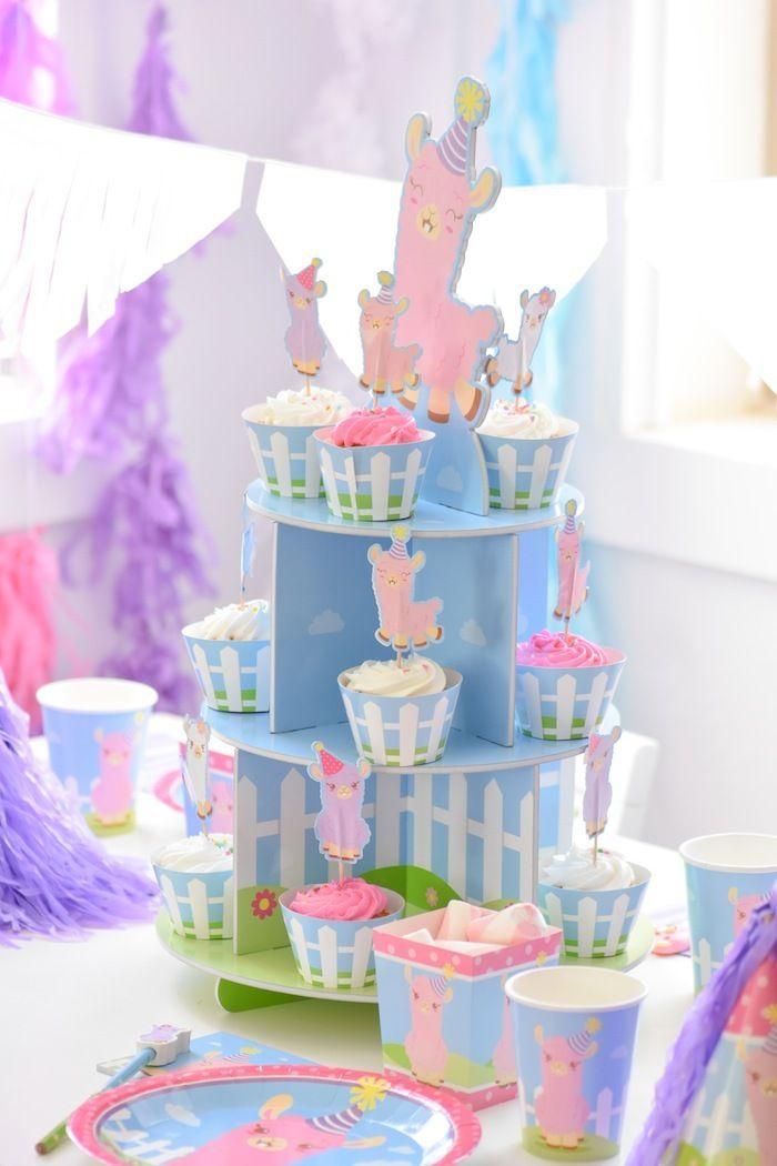 little llama first birthday party