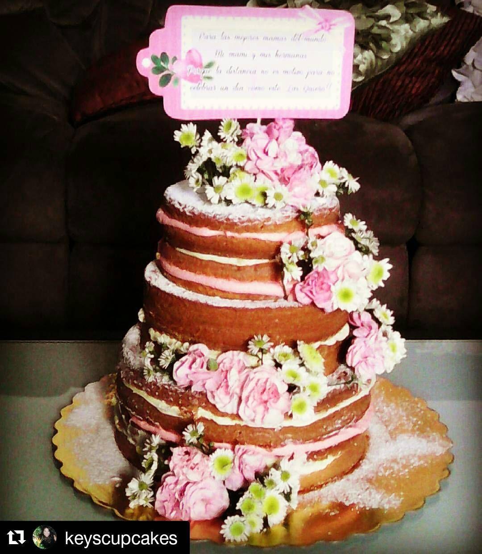 La famosa torta desnuda ha marcado tendencia ltimamente - Mundo de la reposteria ...